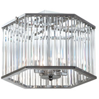 Dainolite Aruba 4 Light Semi Flush in Polished Chrome ARU-154SF-PC