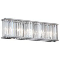 Aruba 4 Light 20 inch Polished Chrome Vanity Wall Light