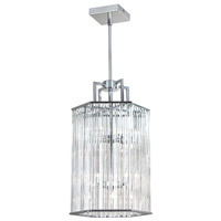 Aruba 6 Light 10 inch Polished Chrome Pendant Ceiling Light