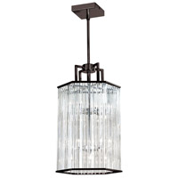 Dainolite ARU-206C-VOB Aruba 6 Light 10 inch Vintage Oiled Brushed Bronze Chandelier Ceiling Light