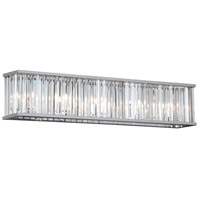 Aruba 5 Light 28 inch Polished Chrome Vanity Wall Light