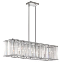 Aruba 7 Light 9 inch Polished Chrome Chandelier Ceiling Light