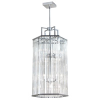 Dainolite Aruba 8 Light Pendant in Polished Chrome ARU-308C-PC
