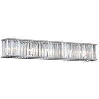 Aruba 7 Light 36 inch Polished Chrome Vanity Wall Light