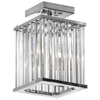 Aruba 2 Light 7 inch Polished Chrome Chandelier Ceiling Light