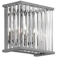Dainolite Aruba 2 Light Wall Sconce in Polished Chrome ARU-82W-PC