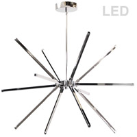 Dainolite ARY-3260LEDC-PC Array LED 32 inch Polished Chrome Chandelier Ceiling Light