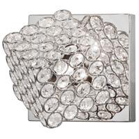 Dainolite Asscher 1 Light Vanity in Polished Chrome ASR-1W-PC