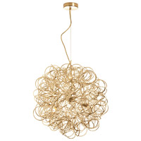 Dainolite Baya 6 Light Pendant in Gold BAY-166LP-GLD