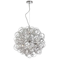 Dainolite Baya 6 Light Pendant in Satin Chrome BAY-166LP-PC
