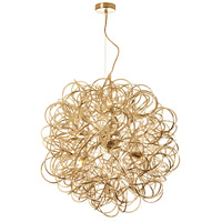 Baya 8 Light 24 inch Gold Pendant Ceiling Light