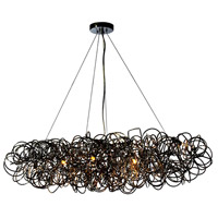 Baya 8 Light 41 inch Chrome Pendant Ceiling Light