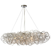 Baya 8 Light 41 inch Polished Chrome Pendant Ceiling Light