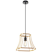 Dainolite BKO-1M-GLD Belenko LED 15 inch Gold Pendant Ceiling Light