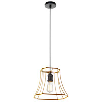 Dainolite BKO-1S-GLD Belenko LED 13 inch Gold Pendant Ceiling Light