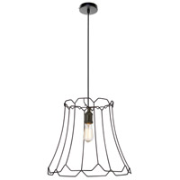 Belenko LED 18 inch Black Pendant Ceiling Light, Large