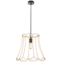 Belenko LED 18 inch Matte Black Pendant Ceiling Light, Large