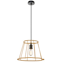 Belenko LED 16 inch Matte Black Pendant Ceiling Light, Small