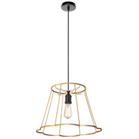 Dainolite BKO-SM-GLD Belenko LED 18 inch Gold Pendant Ceiling Light