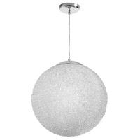 Dainolite BLA-202P-CLR Bolla 2 Light 20 inch Polished Chrome Pendant Ceiling Light