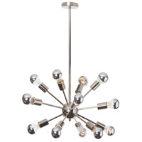 Bristol 12 Light 24 inch Polished Chrome Chandelier Ceiling Light