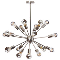 Bristol 18 Light 26 inch Polished Chrome Satellite Chandelier Ceiling Light