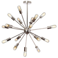 Bristol 18 Light 34 inch Polished Chrome Chandelier Ceiling Light