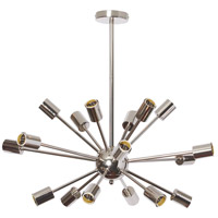 Bristol 18 Light 22 inch Polished Chrome Satellite Chandelier Ceiling Light