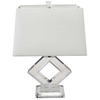 Dainolite C506T-PC Signature 22 inch 60 watt Polished Chrome Table Lamp Portable Light