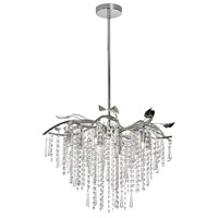 Dainolite Cadence 8 Light Chandelier in Polished Chrome CAD-248C-PC
