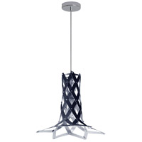 Dainolite CAM-141P-697 Campanula LED 14 inch Polished Chrome Pendant Ceiling Light