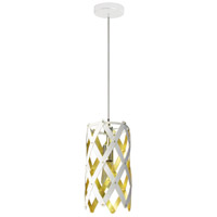 Dainolite CAM-61P-692 Campanula LED 6 inch Polished Chrome Pendant Ceiling Light