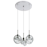 Dainolite Cassini 3 Light Pendant in Polished Chrome CAS-504P-PC