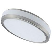 Dainolite CFLED-6016-SC Signature LED 16 inch Satin Chrome Flush Mount Ceiling Light