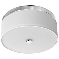 Dainolite CFLED-D1216-SC Signature LED 12 inch Satin Chrome Flush Mount Ceiling Light