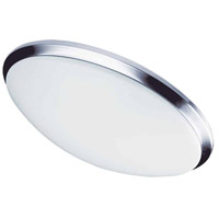 Dainolite CFLED-L1114-PC Signature LED 15 inch Polished Chrome Flush Mount Ceiling Light