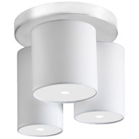 Dainolite Soul 3 Light Flush Mount in Satin Chrome CG3712-SC