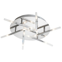 Dainolite Soul 12 Light Flush Mount in Polished Chrome CG8320FH-PC