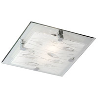 Dainolite CG9113FH-PC Signature 3 Light 12 inch Polished Chrome Flush Mount Ceiling Light photo thumbnail