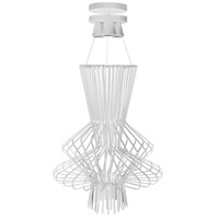Campana 3 Light 21 inch White Semi Gloss Pendant Ceiling Light