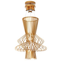 Campana 4 Light 25 inch Gold Semi Gloss Pendant Ceiling Light
