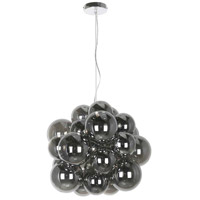 Dainolite CMT-206P-SM-PC Comet 6 Light 20 inch Polished Chrome Pendant Ceiling Light