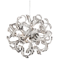 Dainolite Coppelia 6 Light Chandelier in Chrome COP-186C-PC