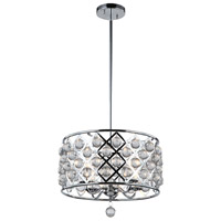 Cresfield 4 Light 15 inch Polished Chrome Chandelier Ceiling Light