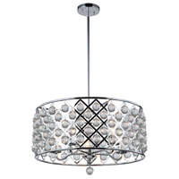 Cresfield 5 Light 22 inch Polished Chrome Chandelier Ceiling Light