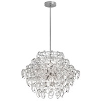 DainoliteCristello 12 Light Chandelier in Polished Chrome with Clear Glass Crystals CRS-2212C-PC
