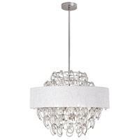 Cristallo 12 Light 25 inch Polished Chrome Chandelier Ceiling Light