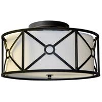 Dainolite CRU-173SF-VOB Cruz LED 17 inch Vintage Oiled Bronze Flush Mount Ceiling Light