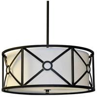 Dainolite CRU-204LP-VOB Cruz 4 Light 20 inch Vintage Oiled Bronze Pendant Ceiling Light