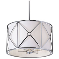 Cruz 6 Light 22 inch Polished Chrome Pendant Ceiling Light